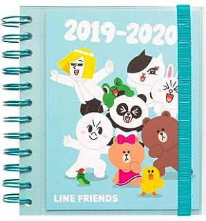 Agenda escolar 2019/2020 A5 12 meses Semana Vista Line ...