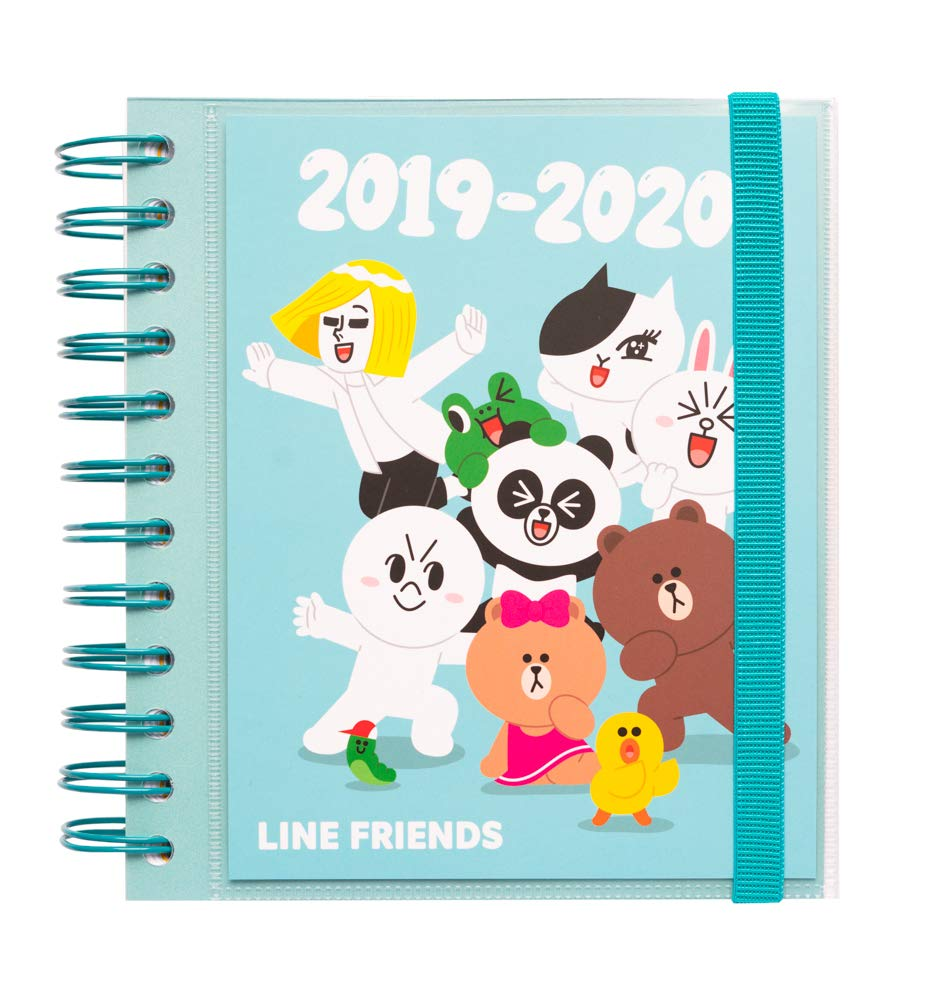 Amazon.com : Line Friends 2019-2020 Academic Diary ...