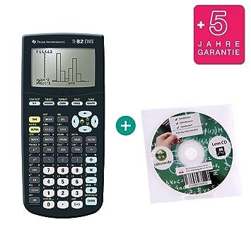 Lern-CD TI-82 Stats + Schutztasche auf Deutsch