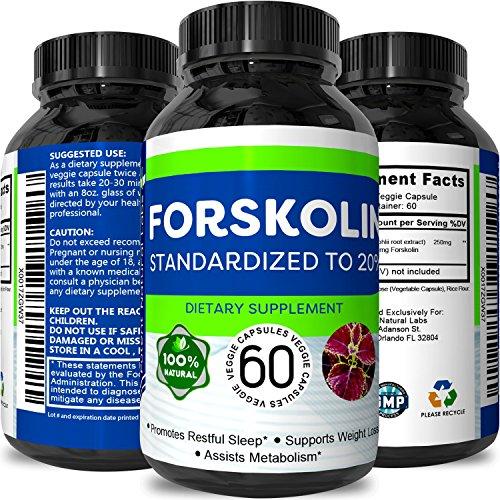 Forskolin Pure Supplements Men Women