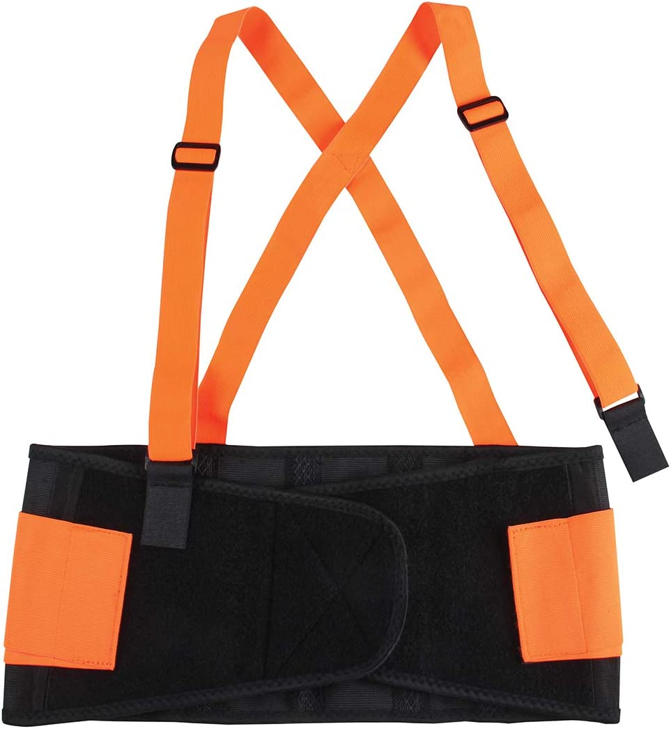38-42 Inches Size XL GG Grand General 99941 High Visibility Elastic Back Support Belt