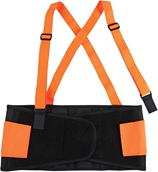 GG Grand General 99941 High Visibility Elastic Back Support Belt Size XL 38-42 Inches