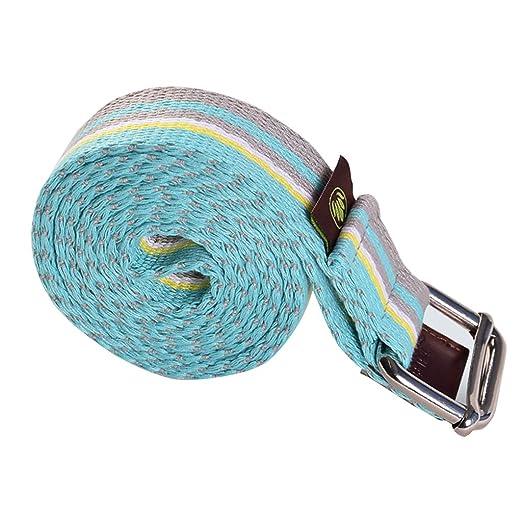 Cinturón elástico con Cordones de 1,88 m para Yoga, Cuerda ...