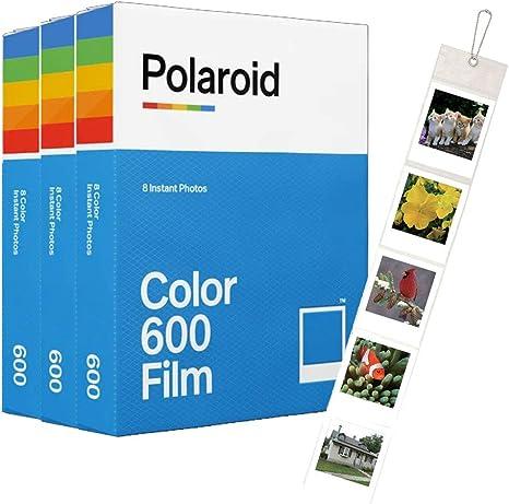 Polaroid Originals - Juego de 600 películas de color (24 tiros) y ...