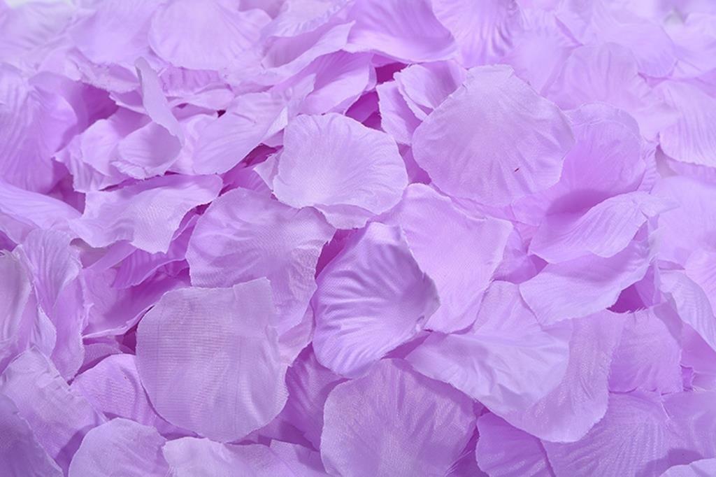 silk flower arrangements lorraine wedding table decoration silk rose petals flowers confetti (8000, plum)