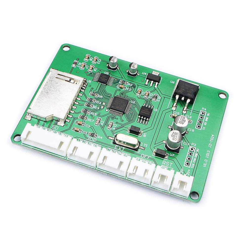 Value-5-Star - 3D Printer Accessories 2.4 Inch Display Extended Card Universal Board 3D Printer Press Screen Full Color High Speed by Value-5-Star (Image #5)