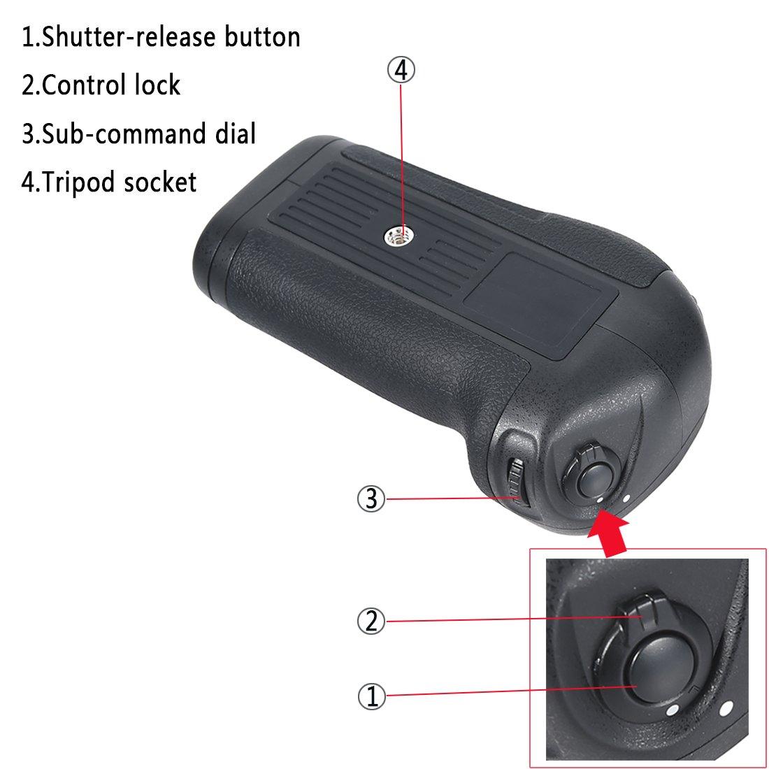 Dste Pro Mb D12 Vertical Battery Grip For Nikon D810 Imaging Products Parts And Controls D800 D800e D810a Dslr Digital Camera As En El15 Photo