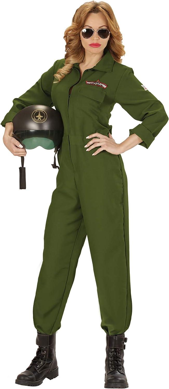 WIDMANN Disfraz de piloto de Aviones para Mujer: Amazon.es ...