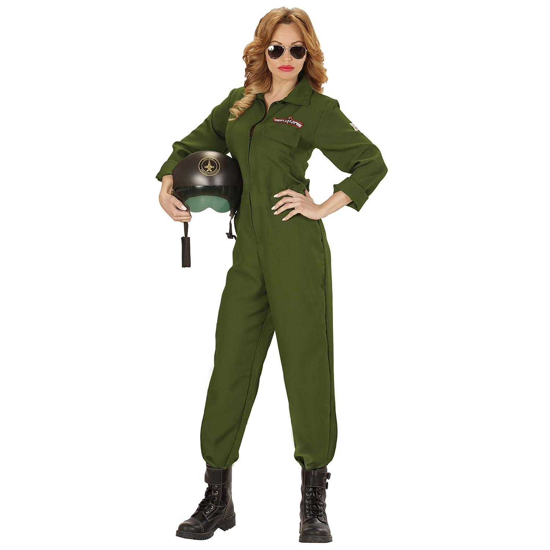 7182ab2323 WIDMANN 2058 - Pilota di Jet da Combattimento, Verde Militare, Taglia S:  Amazon.it: Giochi e giocattoli