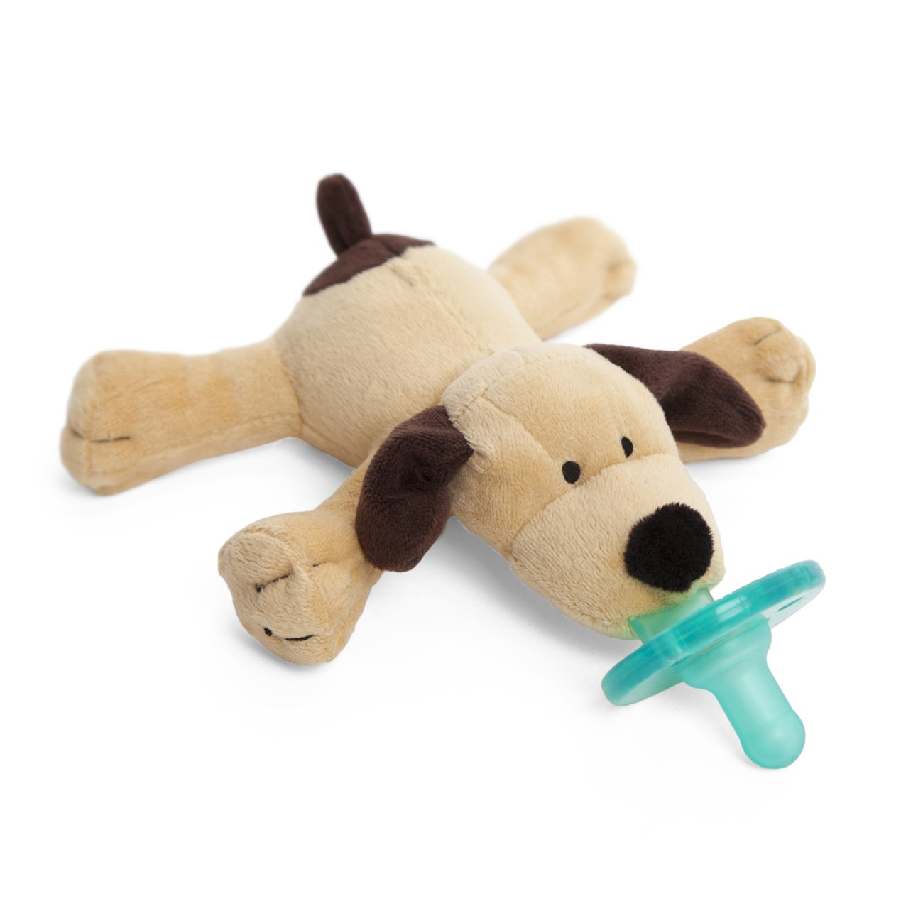 WubbaNub Infant Pacifier - Brown Puppy by WubbaNub (Image #3)