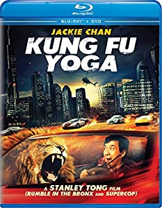 Cover Image for 'Kung Fu Yoga [Blu-ray + DVD]'