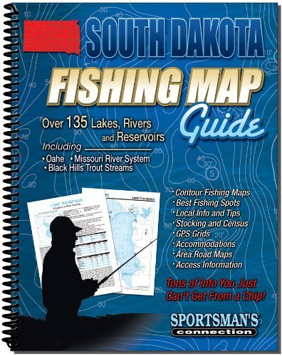 South Dakota Fishing Map Guide by Sportsman's Connection