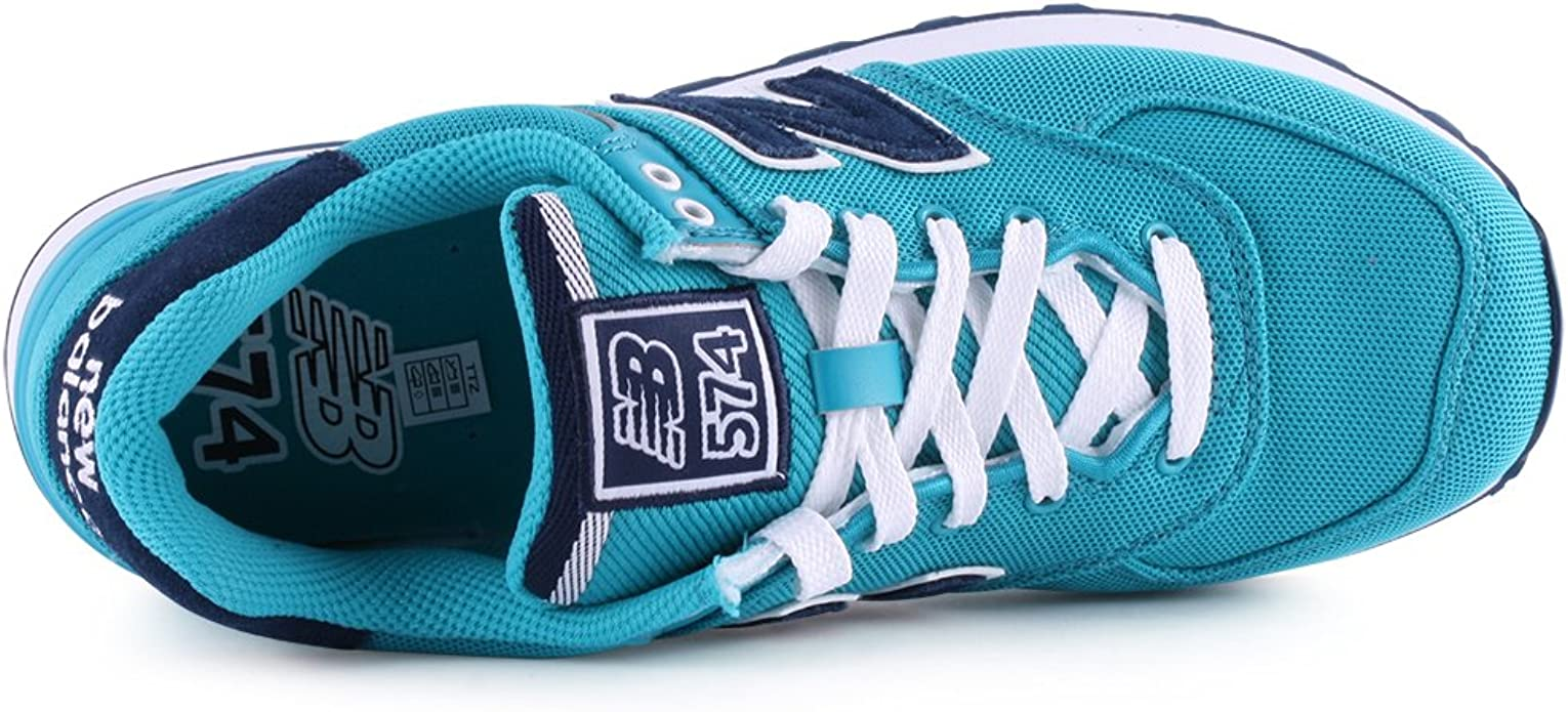 New Balance 574 Pique Polo Pack – Zapatillas, Color Turquesa ...