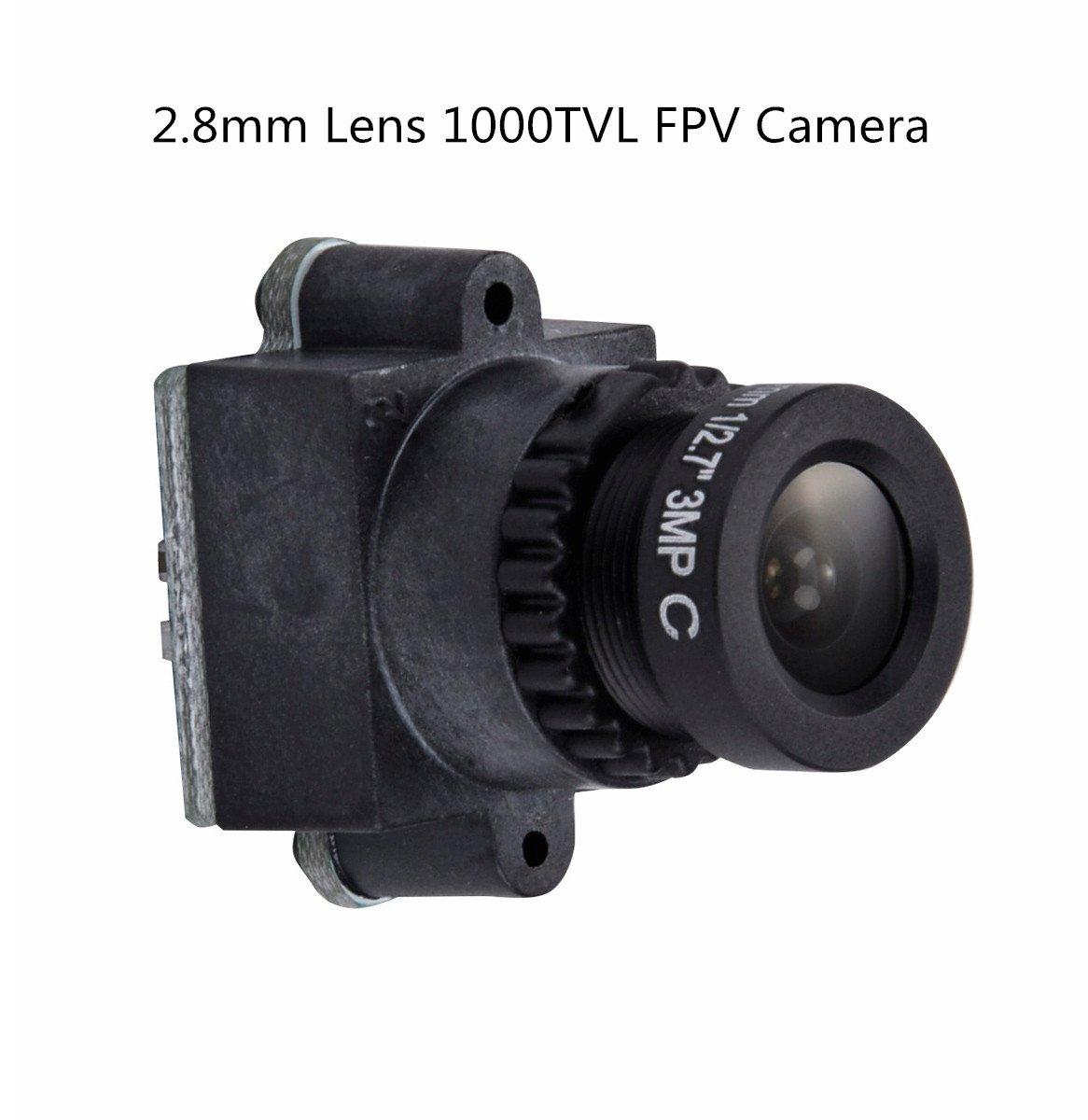 Crazepony 1000TVL FPV Camera 2.8mm Wide Angle Lens CMOS NTSC PAL for QAV250 Multicopter