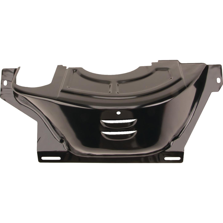 GM 700R4 Flywheel/Flexplate Dust Cover, Black Steel Speedway Motors