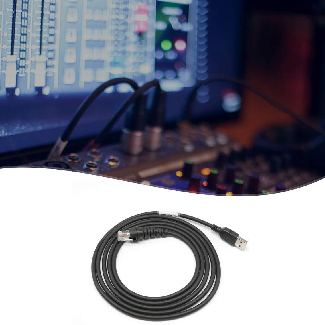 Momorain Exquisit designtes langlebiges 2m 7ft USB-Kabel f/ür Barcodescanner Honeywell Metrologic Ms9540 9520 5145 959
