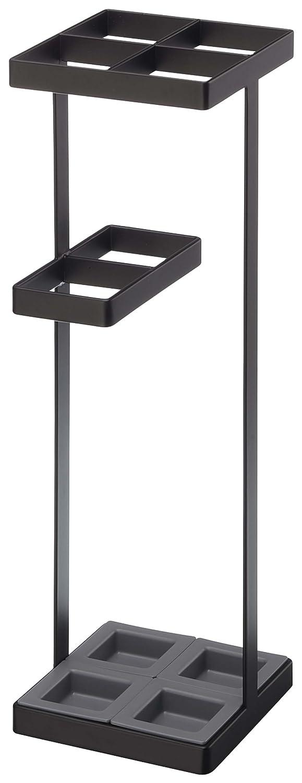 yamazaki Umbrella Stand Portaombrelli, Acciaio, Nero, 11x11x36 cm 4903208076401