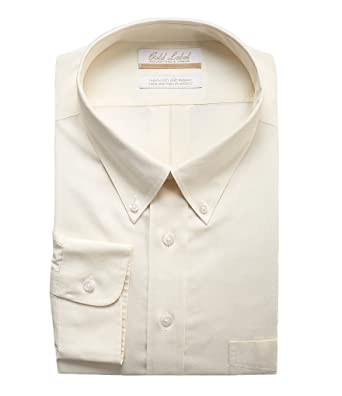 bd3dea103d9 Gold Label Roundtree & Yorke Non-Iron Regular Big Tall Button Down Solid  Dress Shirt Y35DG006 Yellow