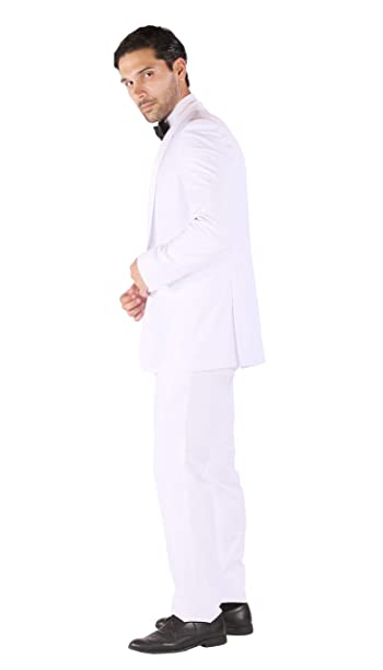 Zonettie Mens Luxury 2pc Slim Fit Shawl Tuxedo - Many Colors