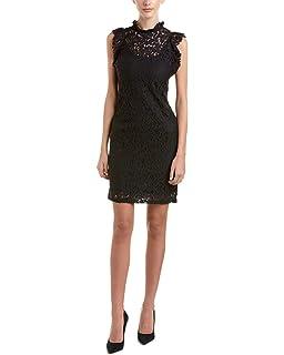 ec33bf18 Alexia Admor Women's Embroidered Sheath Dress w/Illusion Sleeves at ...