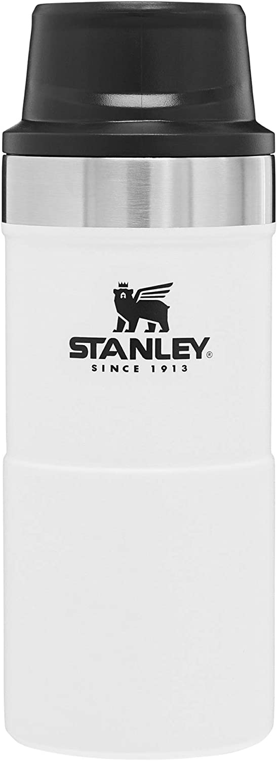 Stanley Classic Trigger Action Travel Mug 12 oz, 16 oz, 20 oz–Leak Proof + Packable Hot & Cold Thermos–Double Wall Vacuum Insulated Tumbler for Coffee, Tea & Drinks–BPA Free Stainless-Steel Travel Cup