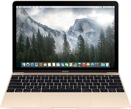 ゴールド (CoreM/8G/SSD) APPLE MacBook 1100/12 MK4M2J/ A