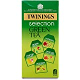 Twinings Green Tea Selection Pack, 25 Bags