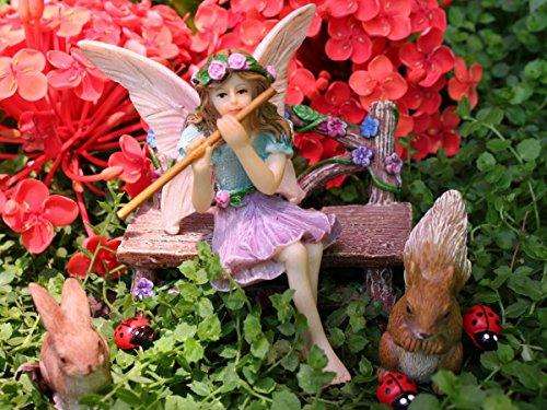 Pretmanns Fairy Garden Fairy Accessories – Miniature Fairy Figurine & Furniture – 14 Piece Starter Kit by Pretmanns (Image #3)