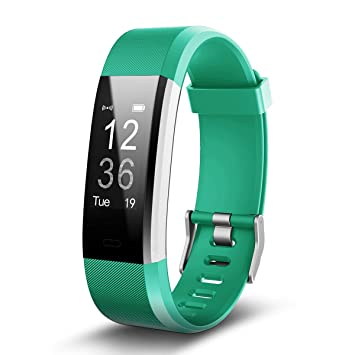 TechCode Reloj Inteligente Mujer, Impermeable Fitness Tracker ...