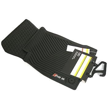 Audi A5 8W B9 original S5 Fußmatten Gummimatten vorne Gummifußmatten rubber mats