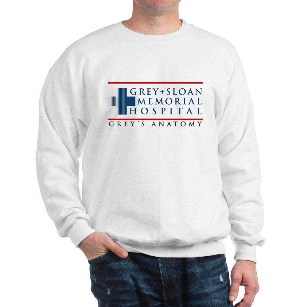 CafePress - Grey Sloan Memorial Hospital - Classic Crew Neck Sweatshirt