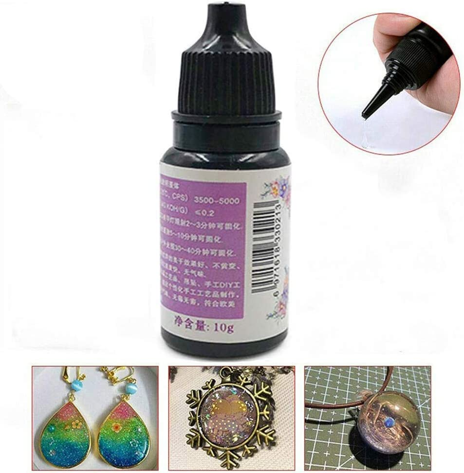 Hard Type UV Diy Crystal Clear Glue, Resina de Epoxy de Curado ...