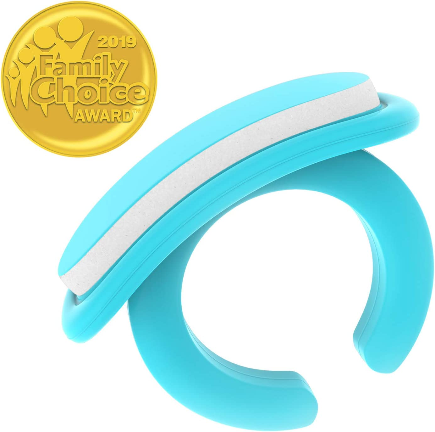 Wearable Baby Nail File with a Ring for Your Finger I Very Useful Baby Nail Care Set for Newborns I 18 Snap-Off Disposable Files/Baby Nail File (0 Months+)