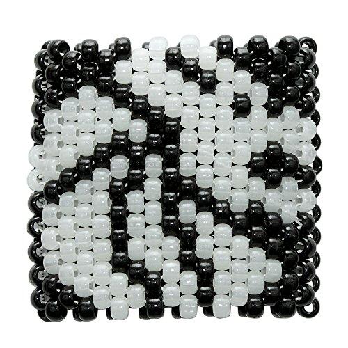 Kandi Gear - Kandi Cuffs, Kandi Bracelets, Beaded Cuffs, Rave Cuffs, Festival Cuffs (Multi7)