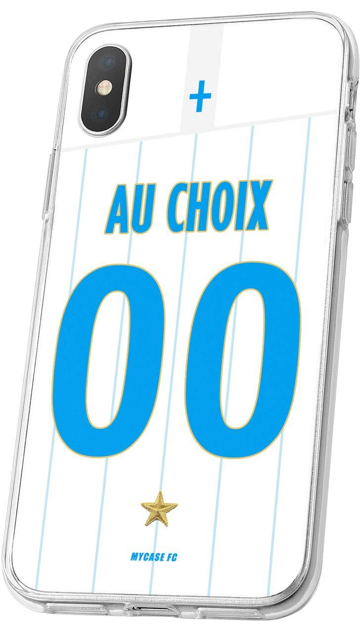 Coque Marseille Samsung Galaxy J7 2017 Foot Personnalisable Silicone nom et num/éro
