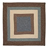 Montego Square Rug, 12-Feet, Bright Brown Review