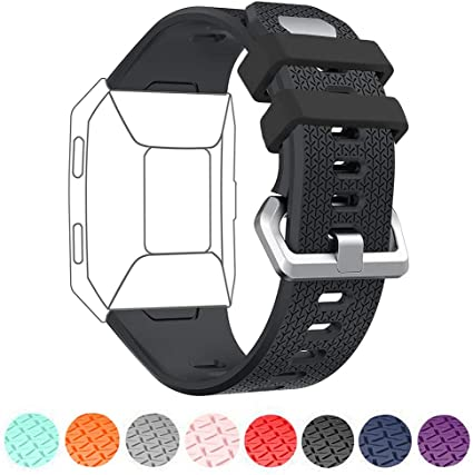 Fitbit Ionic Gr L Ersatz Silikon Armband Uhren Sport Band Fitness Tracker