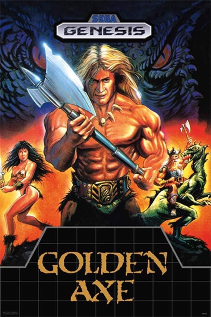 Pyramid America Golden Axe Sega Genesis Classic Video Game Cool Wall Decor Art Print Poster 12x18