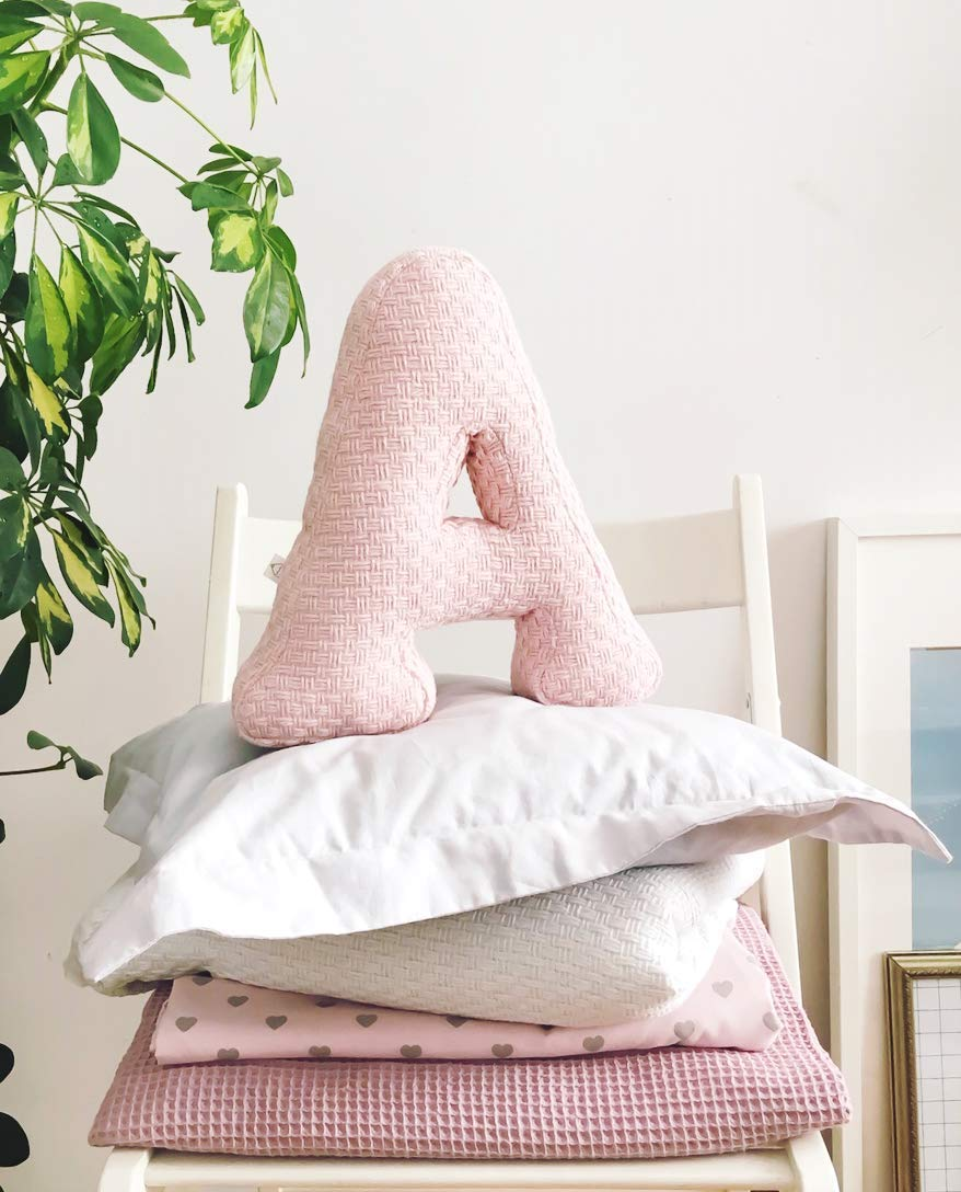 Amazon Com Boho Chic Bedroom Ideas Decorative Letter Cushion Boho Chic Cushion Letter Pillow Cozy Homecustomized Knitwear Cushion Cute Home Decor Handmade