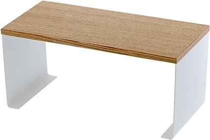 Gagitech  Shelf White Cupboard Kitchen Organiser Stand Stackable 32x13x16 cm
