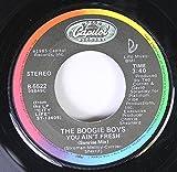 the boogie boys 45 RPM you ain't fresh / same
