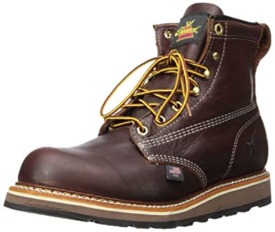 19dcd0daf14 Thorogood Men's American Heritage 6 Inch Plain Toe Boot: Amazon.co ...