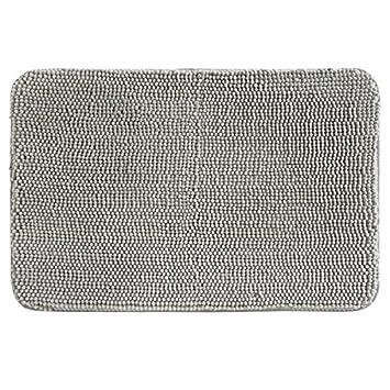 Amazon Com Mdesign Heathered Frizz Comfort Mat For Bathroom Shower