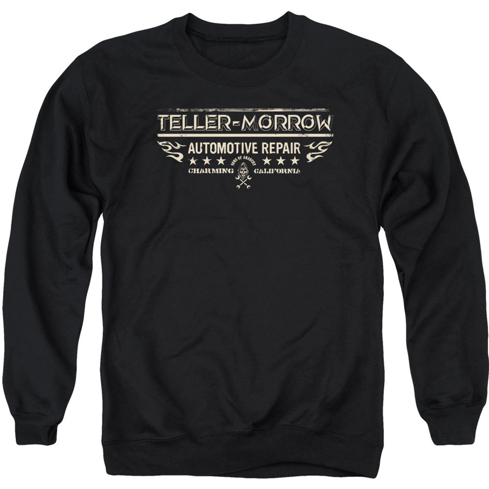 Sons of Anarchy TV Show Teller Morrow Adult Crewneck Sweatshirt TREVCO