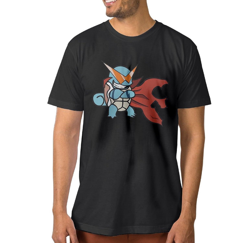 Seaman Squirtle Super Man Black Summer Male T Shirt Tee Top Tees T Shirt