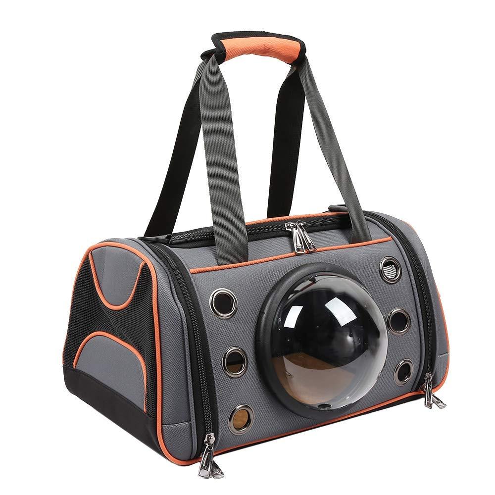 Large SODIAL Pet Dog Carrier Bag Space Capsule Shape Breathable Handbag Puppy Outdoor Travel Shoulder Bag Soft Kennel Large Small Dogs Cats L
