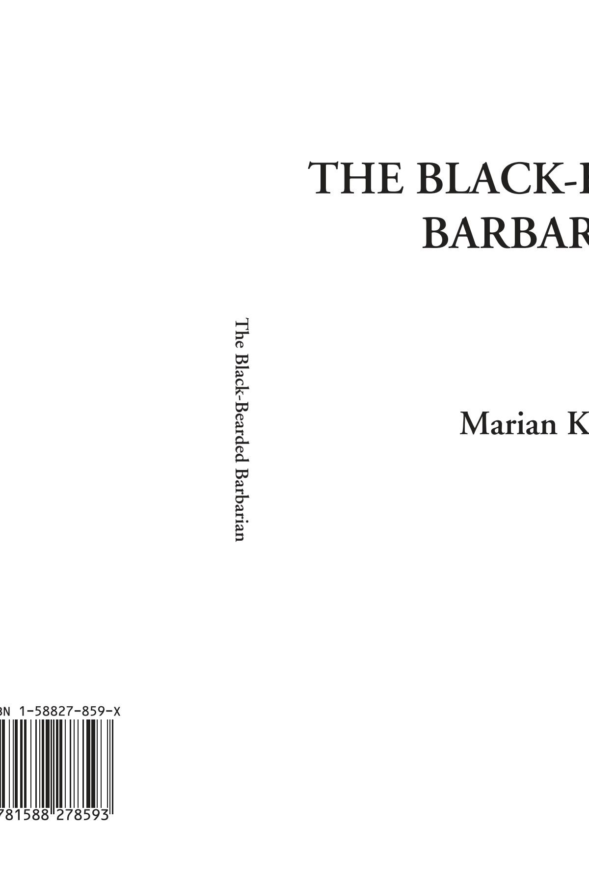 The Black-Bearded Barbarian pdf epub