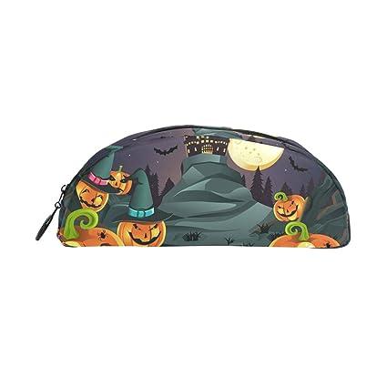 COOSUN Halloween Pumpkins - Estuche para lápices de fondo ...