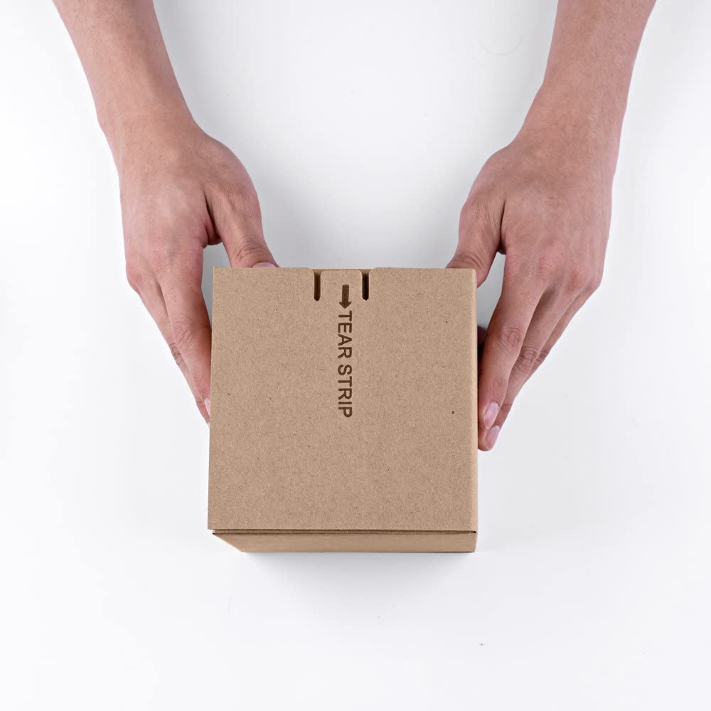 Small Corrugated Boxes Mailers 5x5x5inch for Packing,Shipping,Moving and Storage,Pack of 25