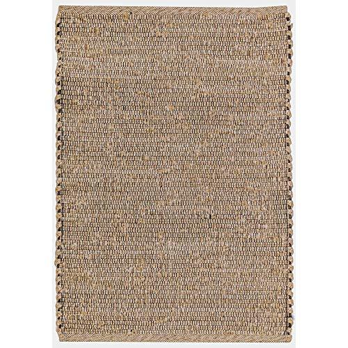 Liora Manne SHR23617512 Sahara Solid Plains Indoor/Outdoor Rug 2' X 3' Neutral